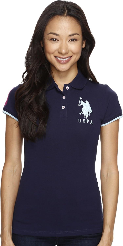 Polo Assn Womens Contrast Patch Shirt U.S