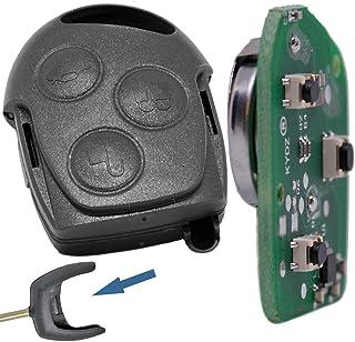 Auto Llave Mando a distancia 1 x Carcasa + 1 x 433 MHz transmisor transmitting +