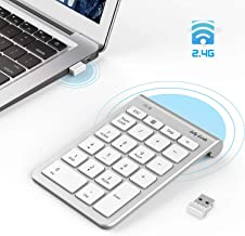 Wireless Number Pad, Jelly Comb Numeric Keypad 2.4G Number Pad Financial Accounting..