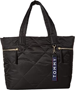 503854a43ce9 Tommy hilfiger the signature smooth nylon tote