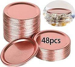 Canning Lids (2.75in Lids), Regular Mouth Mason Jar Lids, Aluminum Lids For Mason Jar Regular Mouth, Split-type Lids Leak ...