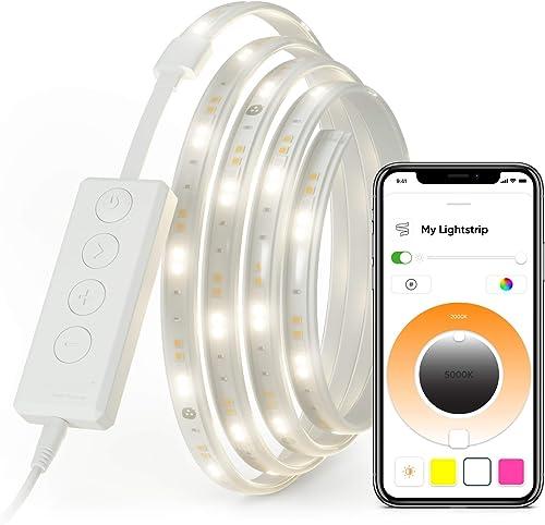 Nanoleaf Essentials 2 Meter Lightstrip Starter Kit, Starter kit (2 Meter) (NL55-0005LS-2M)