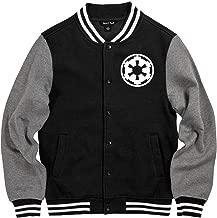Darth Vader May 4 Varsity Jersey: Unisex Fleece Letterman Varsity Jacket