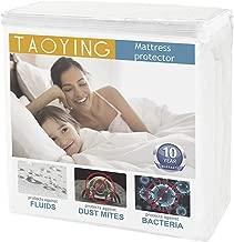 Taoying Mattress Protector, Twin Size Premiun Hypoallergenice Waterproof Breathable Mattress Protector-Vinyl,PVC Free