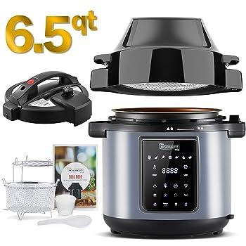 Amazon.com: Emeril Everyday 6 QT Pressure Air Fryer, 5 Pc