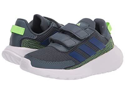 adidas Kids Tensaur Run (Little Kid) (Legacy Blue/Team Royal Blue/Signal Green) Boy