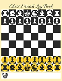 Chess Match Log Book: Record Moves, Write Analysis, And Draw Key Positions, Score Up To 51 Games Of Chess