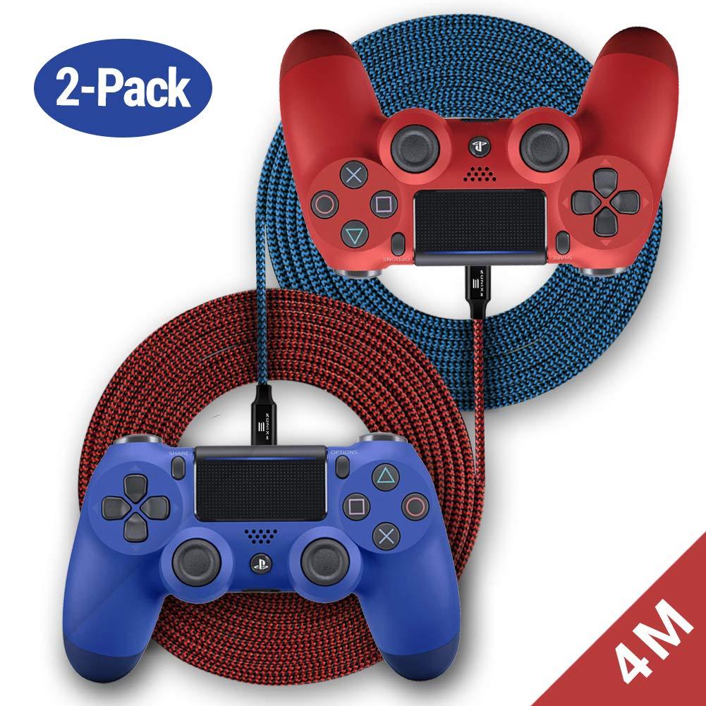 Cable Trenzado de Carga EXINOZ de 2 m para Control de PS4 ...