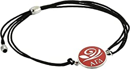 Alex and Ani Kindred Cord Alpha Gamma Delta Bracelet