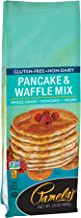 Pamela's Products Gluten Free, Non-Dairy Pancake and Waffle Mix, 24 Ounce (Pack of 6)