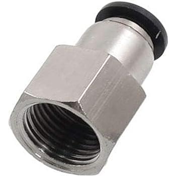"""10 piezas compuesto conector tubo OD 1//8/"""" Neumáticos Empuje Montaje De Aire"""