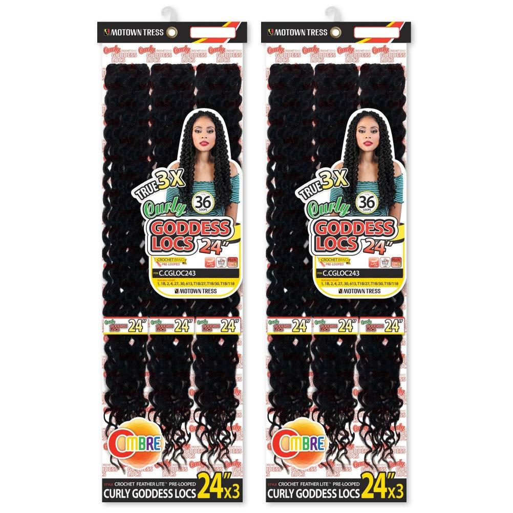Overseas parallel import regular item Motown Tress C.cgloc243 Goddess Locs - Inch 24 36 Super Special SALE held P 2 Loops
