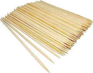 Natural Bamboo Skewers, Wooden Skewers,Skewer Sticks,kebab Sticks,Short Skewers,Wooden Kebab Skewers -Skewers for Fruit Ka...