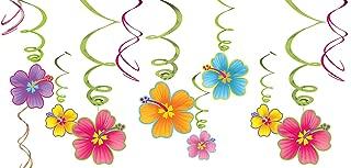 amscan Luau Party Hanging Swirl Decorating Kit