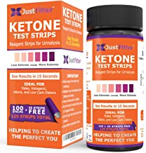 Ketone Keto Urine Test Strips. Look & Feel Fabulous on a Low Carb Ketogenic or HCG Diet. Get Your Body Back! Accurately Me...