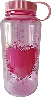 Nalgene 682010-0171 Wm 1 Qt Pink Heart with Pink Lid
