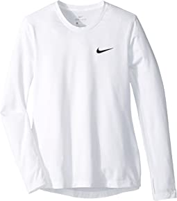 Nike Kids - Pro Dry Long Sleeve Training Top (Little Kids/Big Kids)
