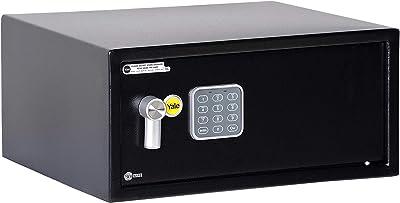 Yale Security YLC/200/DB1 Yale Laptop Alarmed Value Safe, Black
