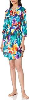 Selene Women's Robe Soft Kimono 3/4 Sleeve Knit Robes Bathrobe Sleepwear Loungewear Short Nightgown S-1X