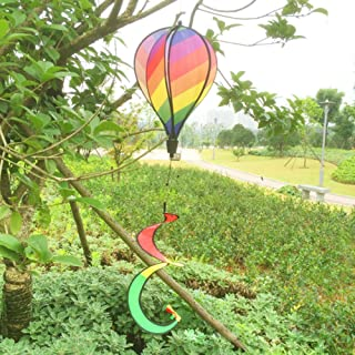 multi colored wind spinner
