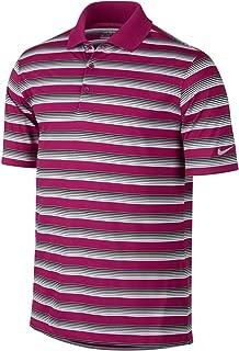 Nike Golf Tech Vent Stripe Polo Sport Fuchsia/Black