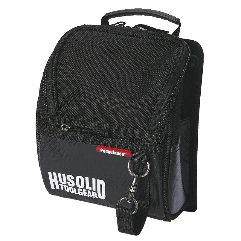 ペンギンエース ヒューソリッド フタ付き腰袋 Mサイズ HT-003