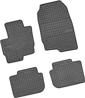 Bär AfC MI02421 Gummimatten Auto Fußmatten Schwarz, Erhöhter Rand, Set 4 teilig, Passgenau für Modell Siehe Details