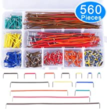 AUSTOR 560 Pieces Jumper Wire Kit 14 Lengths Assorted Preformed Breadboard Jumper Wire with Free Box