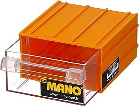 Mano K/30 Çekmeceli Kutu, Polypropylene, Sarı, 1 Adet
