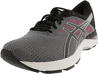 ASICS Women's Gel-Flux 5 Running Shoe, Carbon/Black/Fuchsia - 11.5 B(M) US