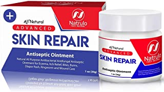 Sponsored Ad - Natrulo Skin Healing Cream | Natural All Purpose Antibacterial Antiseptic Ointment for Eczema, Itch Relief,...