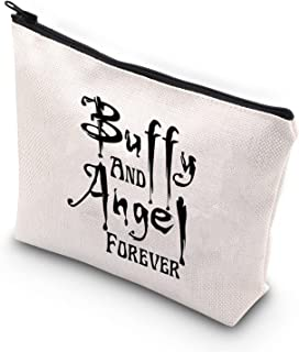 ZJXHPO Buffy and Angel Forever Makeup Bag (Buffy and Angel)
