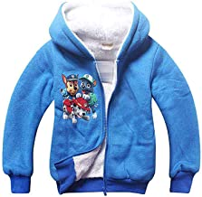 PCLOUD Cute Dog Childrens Hoodies Coat Jacket Fleece Warm Winter Outwear Blue