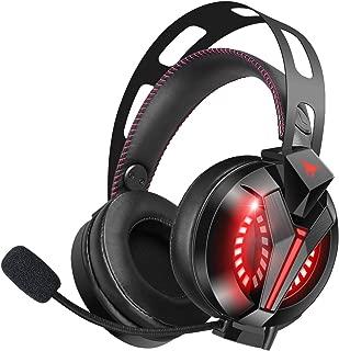 ゲーミング ヘッドセット ヘッドホン - ヘッドフォン PS4用 PC用 ゲーム用 ヘッドセット ヘッドホン 360度調節可能マイク 快適 軽量 高音質 PS4/PC/Mac/Switch/wiiu/スマホに対応 スカイプ fps 対応 男女兼用 M180