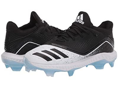 adidas Icon V Bounce TPU (Core Black/Core Black/Glow Blue) Women
