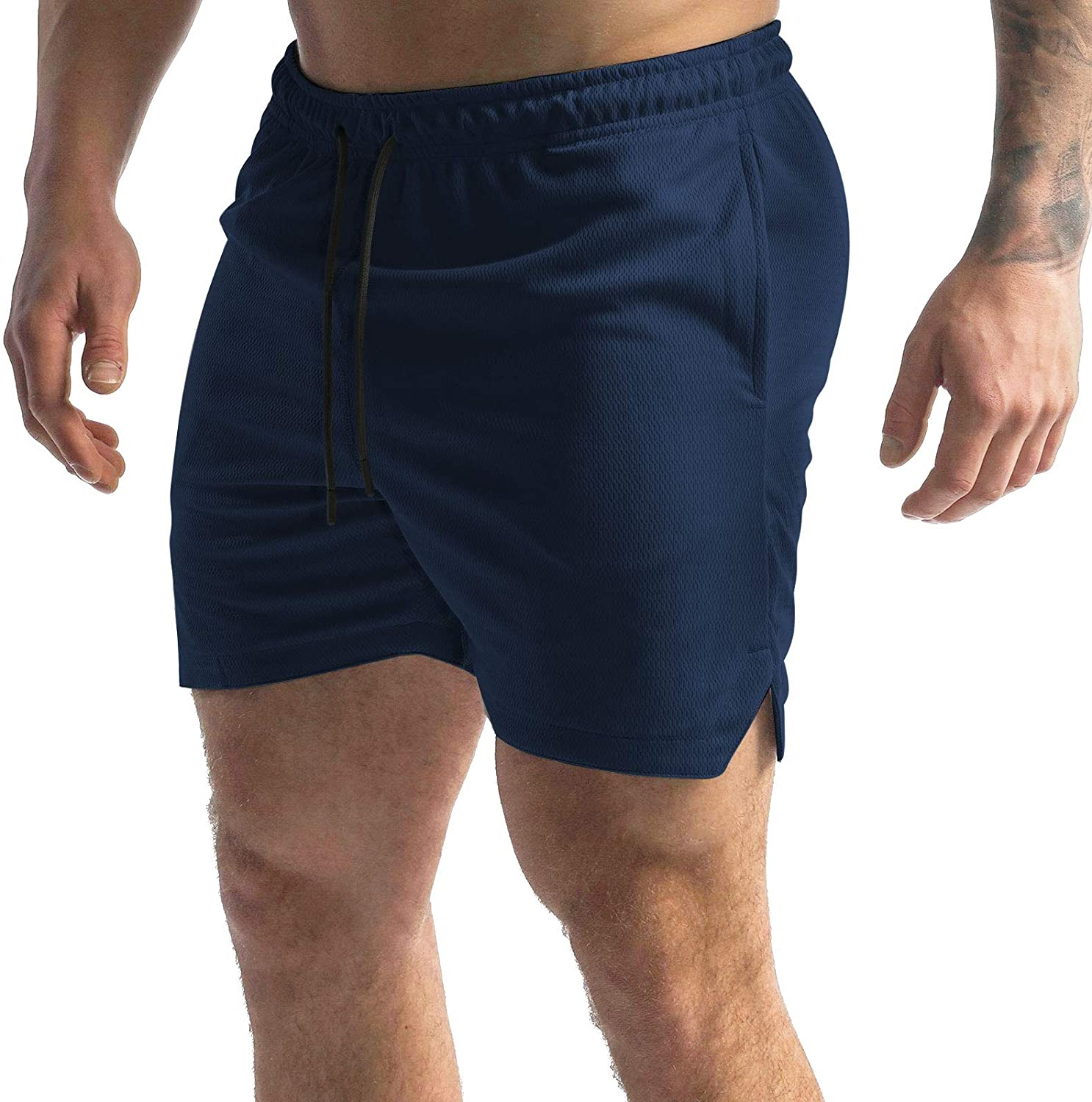 GANSANRO Athletic Shorts 2021 autumn and winter new for Men Long-awaited Workout Quick R Mens Dry