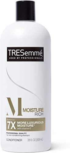 TRESemmé Conditioner for Dry Hair Moisture Rich Professional Quality SalonHealthy Look and Shine Moisture Rich Formul...