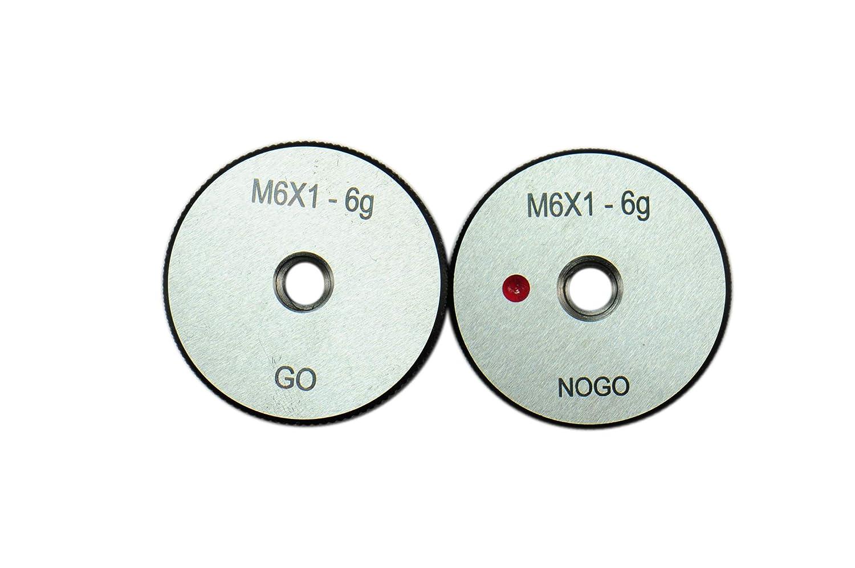 shipfree Under blast sales Shars Go No Metric Thread Ring Gage New Set M10x1.2 Pc 2