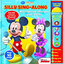 Voice Changing Microphone Book Minnie & Mickey