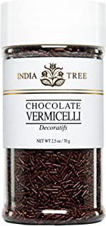 India Tree Chocolate Vermicelli, 2.5 oz (Pack of 3)