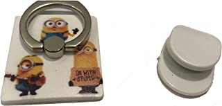 Cut3 Despicable Me Minions Universal 360 Rotating Finger Grip Ring Stand/Holder/Car Mount/Wall Mount For Phones/Tablets (Minions Friends)