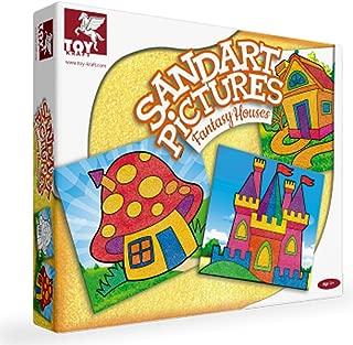 Toykraft Sand Art Kits (SANDART Pictures Fantasy Houses)