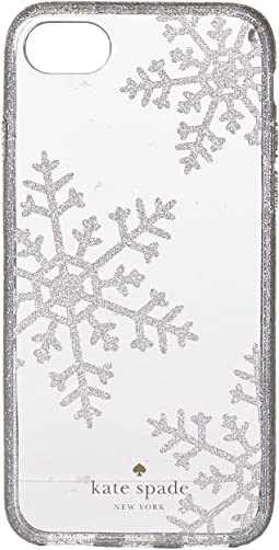 Kate Spade New York - Glitter Snowflakes Phone Case for iPhone® 7/iPhone® 8