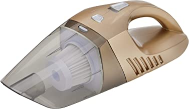 RC-Global RC-A49 GD Wireless Dry/Wet Vacuum Cleaner for Home/Car, 110W, Gold