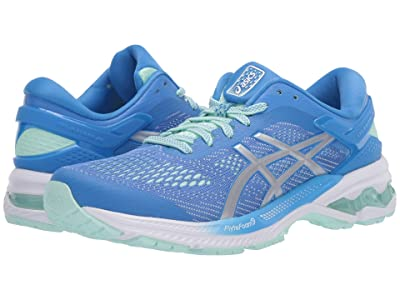 ASICS GEL-Kayano(r) 26 (Blue Coast/Pure Silver) Women