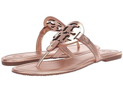 Tory Burch Miller Flip Flop Sandal (Rose Gold) Women