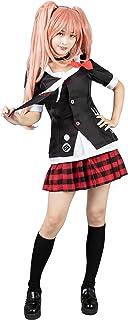 Cosfun Danganronpa Junko Enoshima Cosplay Costume Uniform Dress mp004171