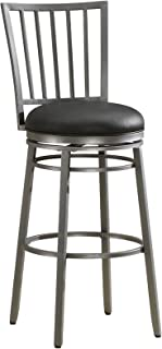 American Heritage Billiards Easton Bar Height Stool, Flint