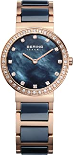 BERING Time 10729-767 Womens Ceramic Collection Watch with Stainless Steel Band and Scratch Resistant Sapphire Crystal. Designed in Denmark.