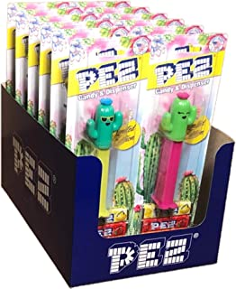 Limited Edition Cactus Pez Dispenser 12 Pack: Cool Cactus Spike & Happy Cactus Lilly